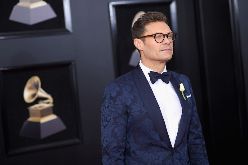 NEW YORK, NY - JANUARY 28: Ryan Seacrest attends the 60th Annual GRAMMY Awards at Madison Square Garden on January 28, 2018 in New York City. (Photo by Dimitrios Kambouris/Getty Images for NARAS)