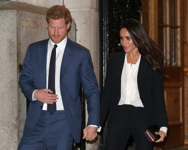 Prince Harry And Meghan Markle Attend The 'Endeavour Fund Awards' Ceremony.