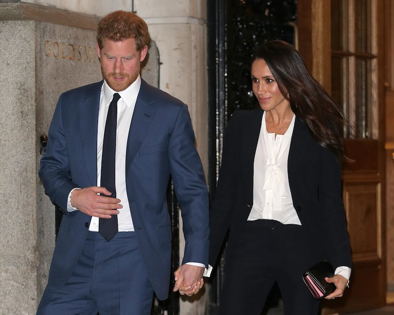 Prince Harry And Meghan Markle Attend The 'Endeavour Fund Awards' Ceremony