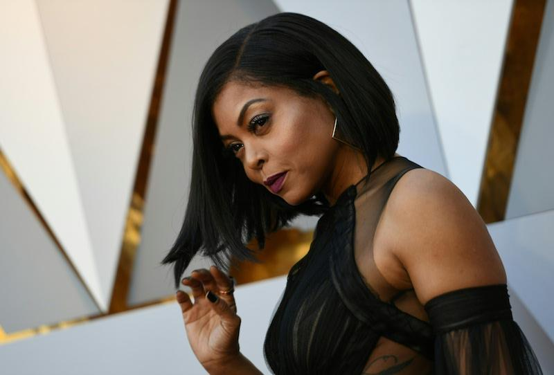 US actress Taraji P. Henson arrives for the 90th Annual Academy Awards on March 4, 2018, in Hollywood, California. / AFP PHOTO / VALERIE MACON (Photo credit should read VALERIE MACON/AFP/Getty Images)