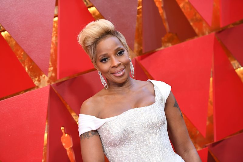 US singer and actress Mary J. Blige arrives for the 90th Annual Academy Awards on March 4, 2018, in Hollywood, California. / AFP PHOTO / ANGELA WEISS (Photo credit should read ANGELA WEISS/AFP/Getty Images)