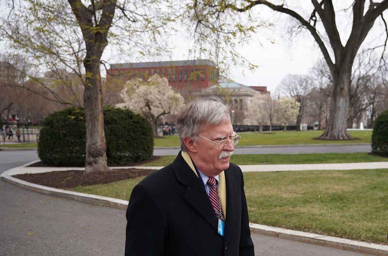 National security advisor designate John Bolton