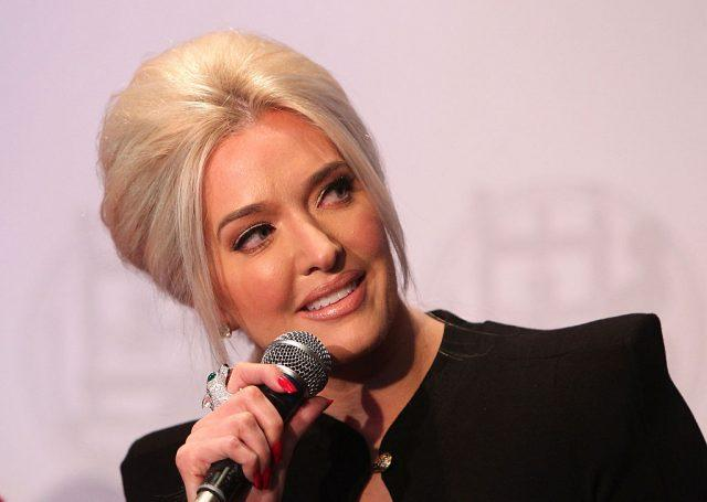 Erika Jayne attends Gloria Allred and Erika Jayne Honored by LGBTs