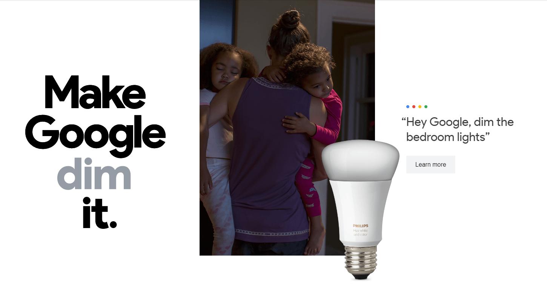 Google Home lights