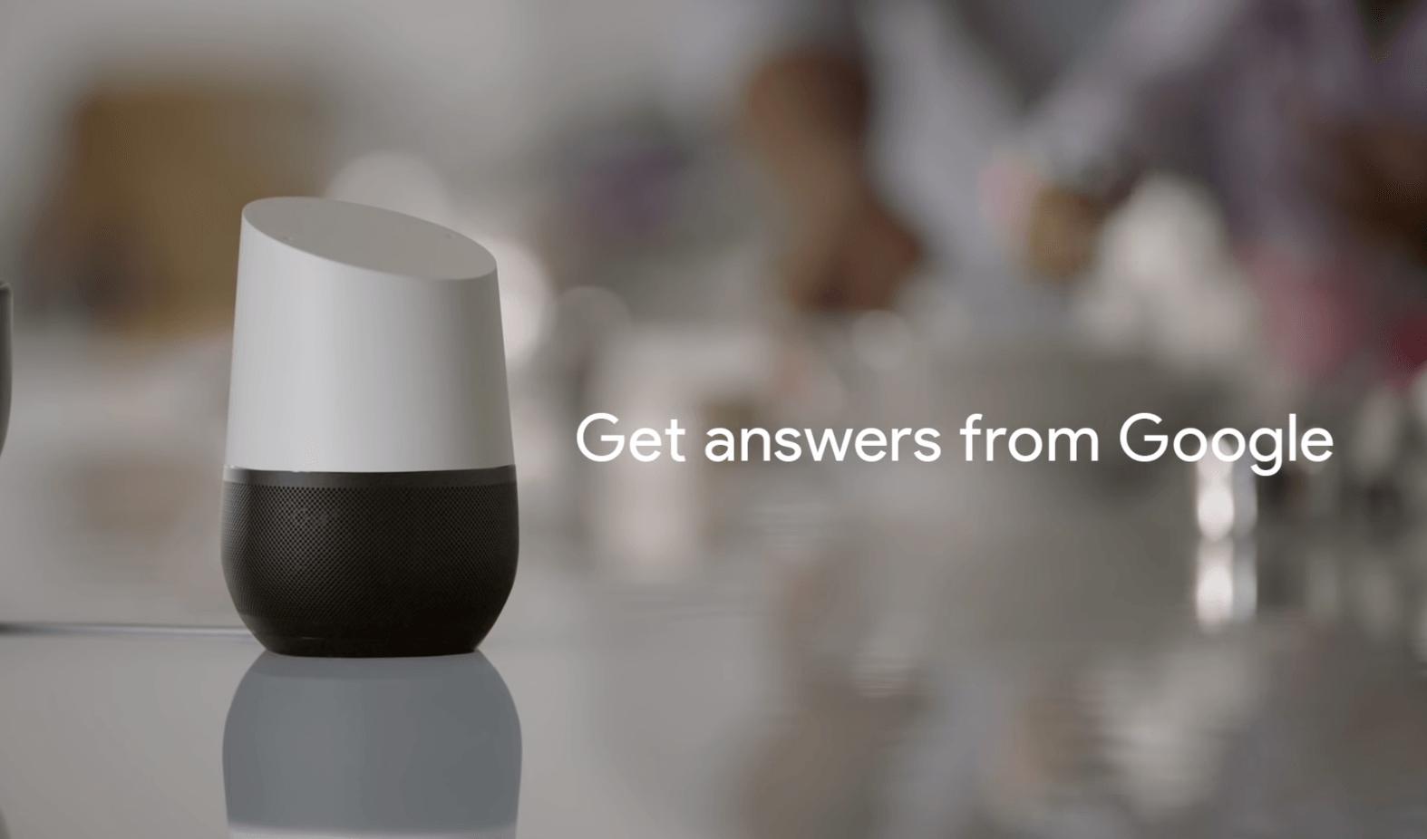 Google home answers