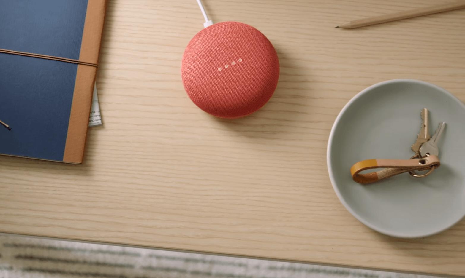 Google home pink