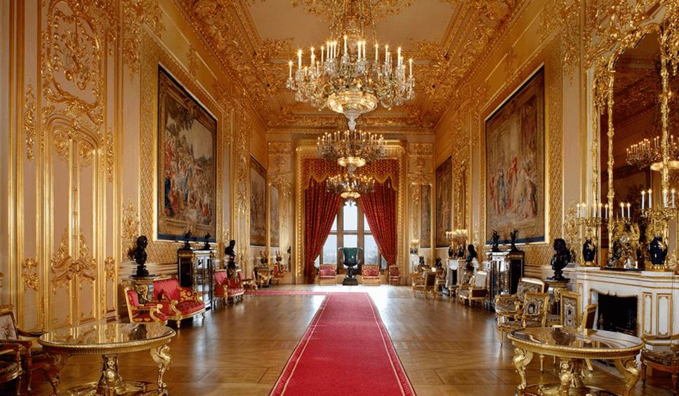 Grand Reception room Windsor Castle