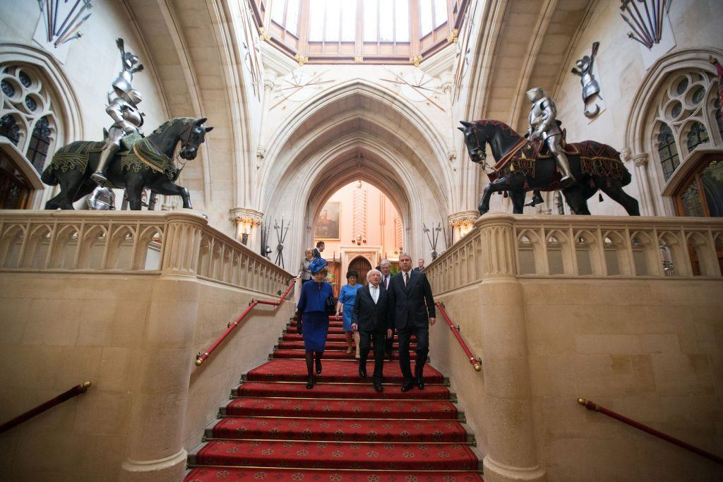 Grand Staircase Windsor Castle