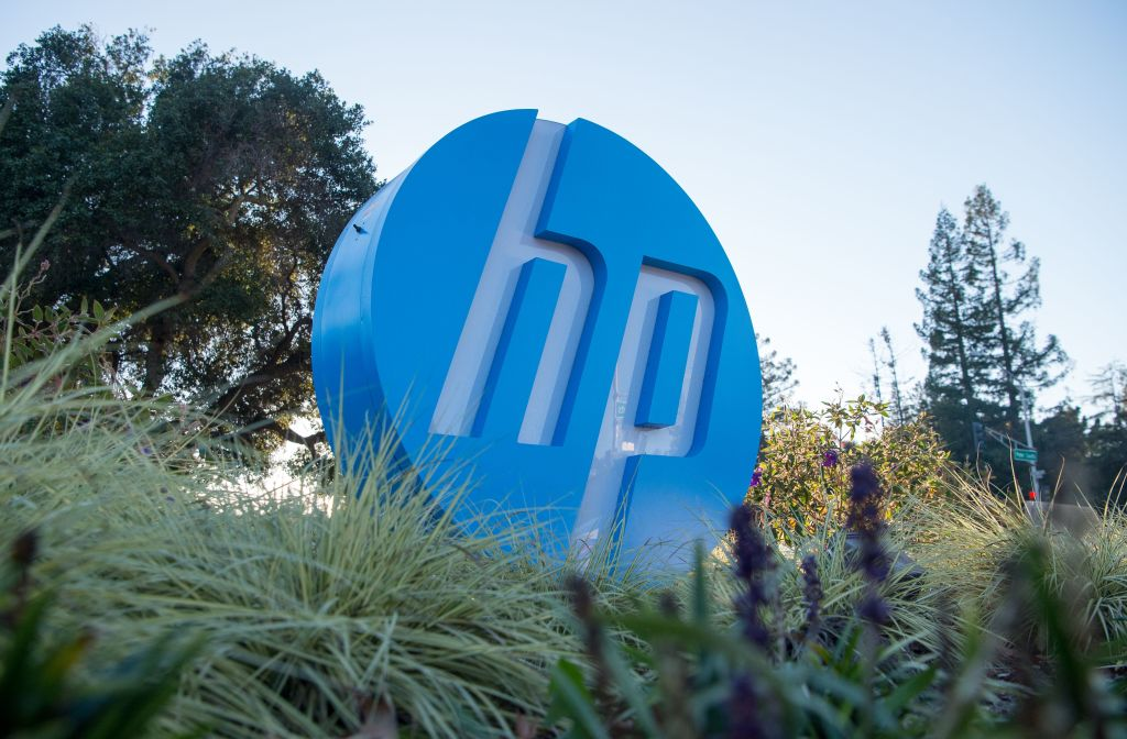 HP Hewlett Packard's Headquarters
