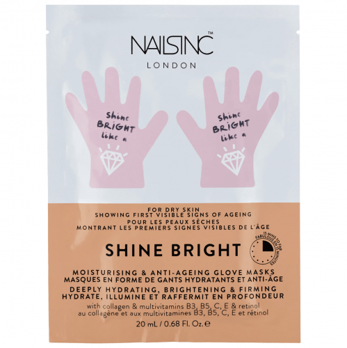 Hand mask Sephora shine bright