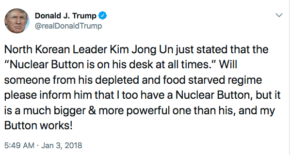 Harassing people (especially other world leaders) on Twitter isn't apart of the job description