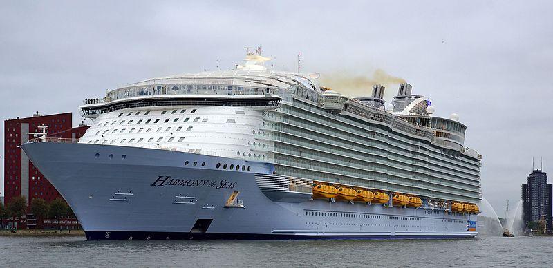 Royal Caribbean Harmony of the seas cruise ship