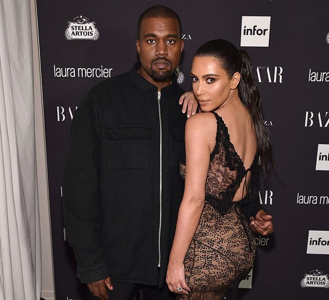 Kanye West and Kim Kardashian West attend Harper's Bazaar's celebration of 'ICONS By Carine Roitfeld'