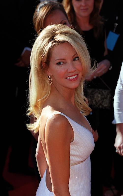 Heather Locklear at a movie premiere.