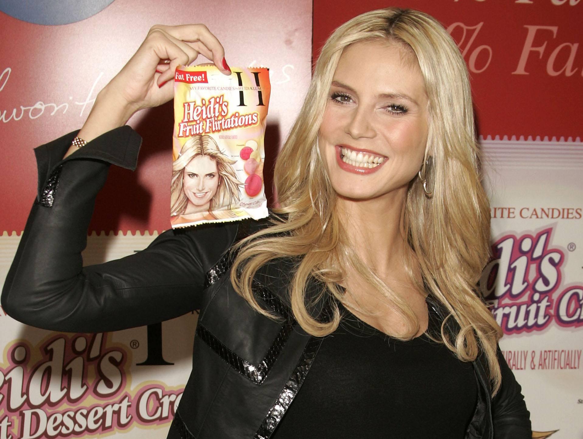 "Heidi Klum Launches ""My Favorite Candies"""