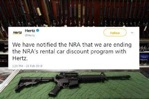 All the Companies That Are Severing Ties With the NRA in 2018 (And a Big 1 That Isn't)