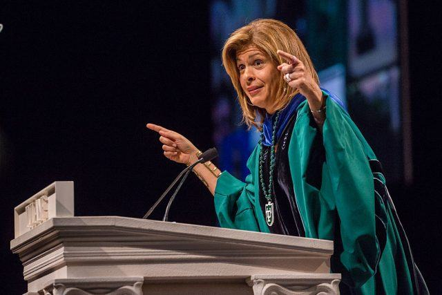 Hoda Kotb delivers Tulane University Commencement address at The Mercedes-Benz Superdome