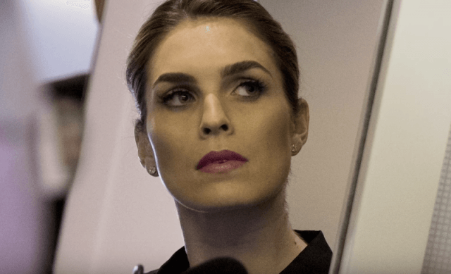 Hope Hicks in a photograph.