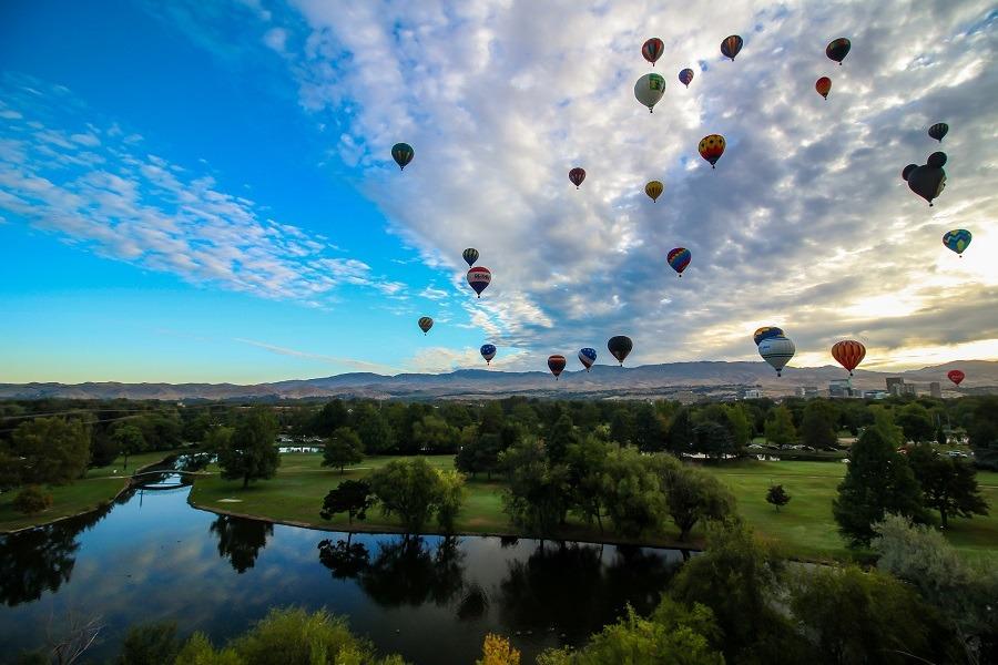 Ann Morrison Park. Idaho