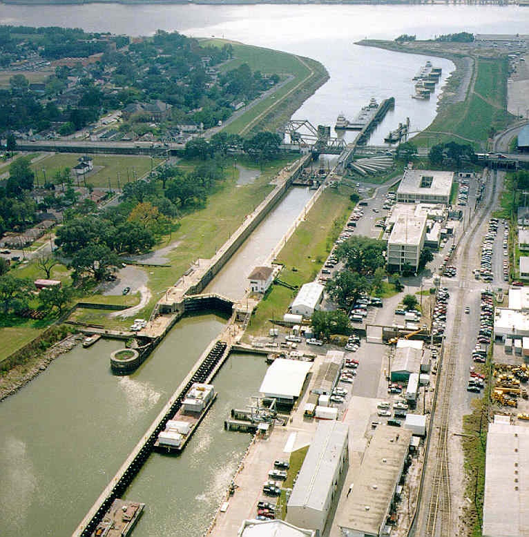 Industrial Canal Lock new orleans