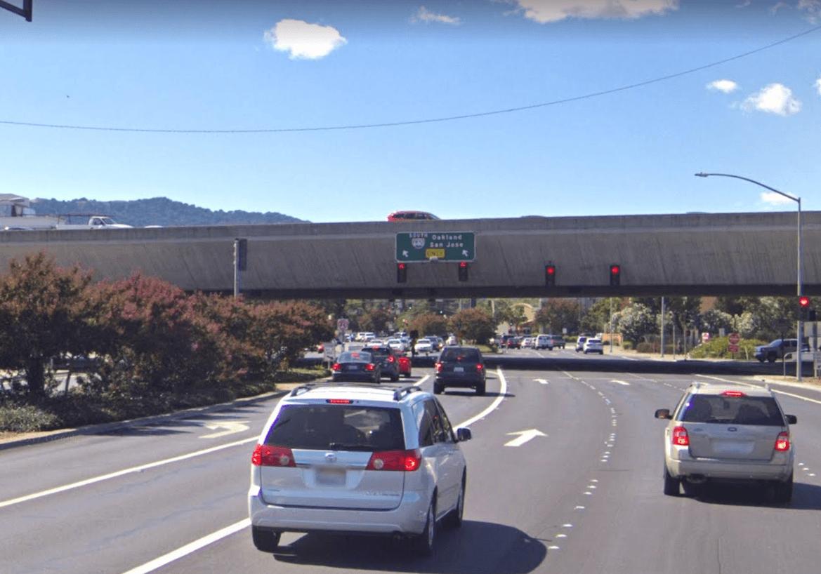 Interstate 680 bridge