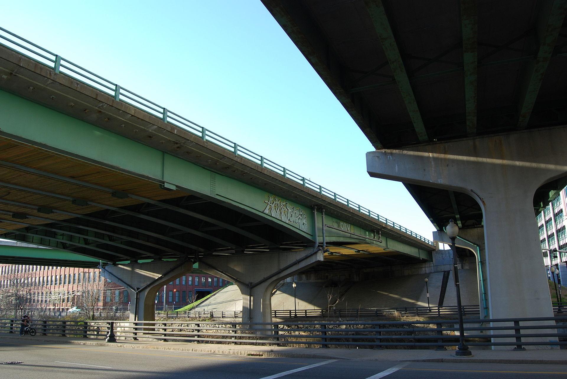 Interstate 95 bridge providence