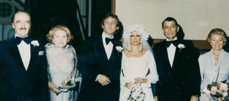 Ivana Trump's wedding