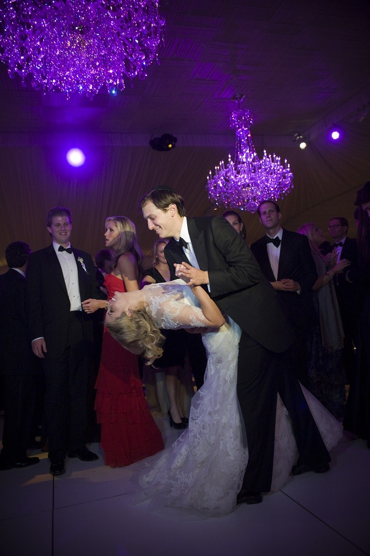 Ivanka Trump and Jared Kushner dancing