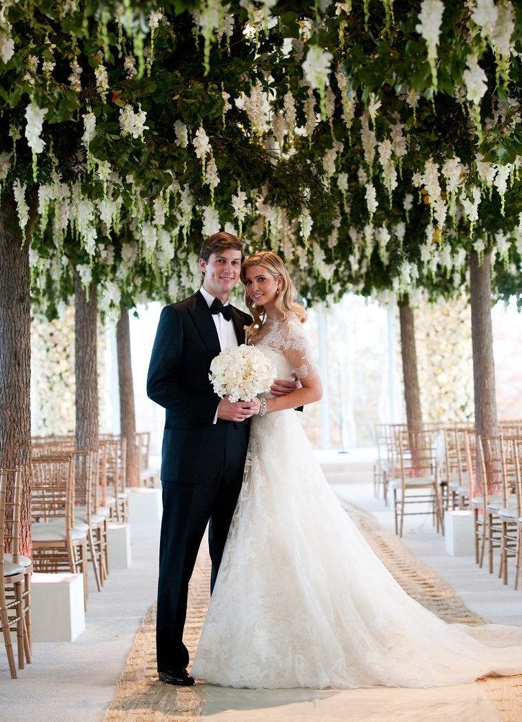 Ivanka Trump & Jared Kushner Wedding