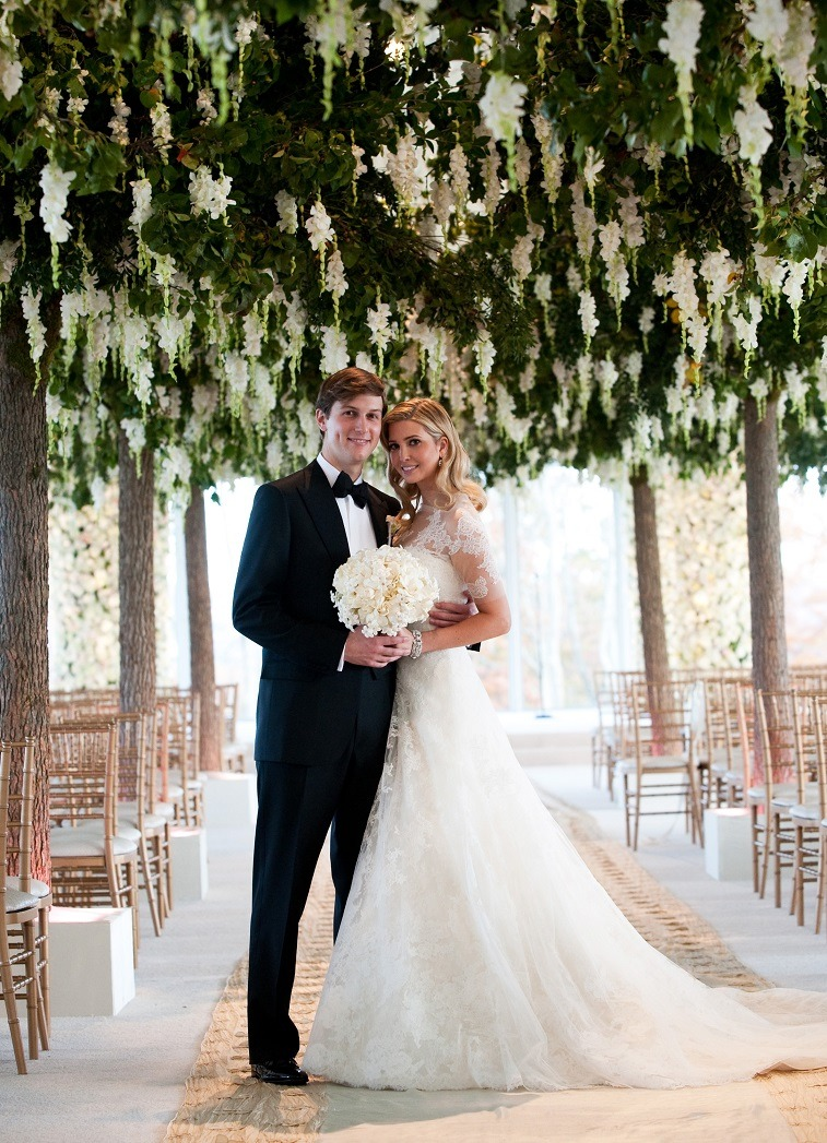 Ivanka Trump and Jared Kushner wedding