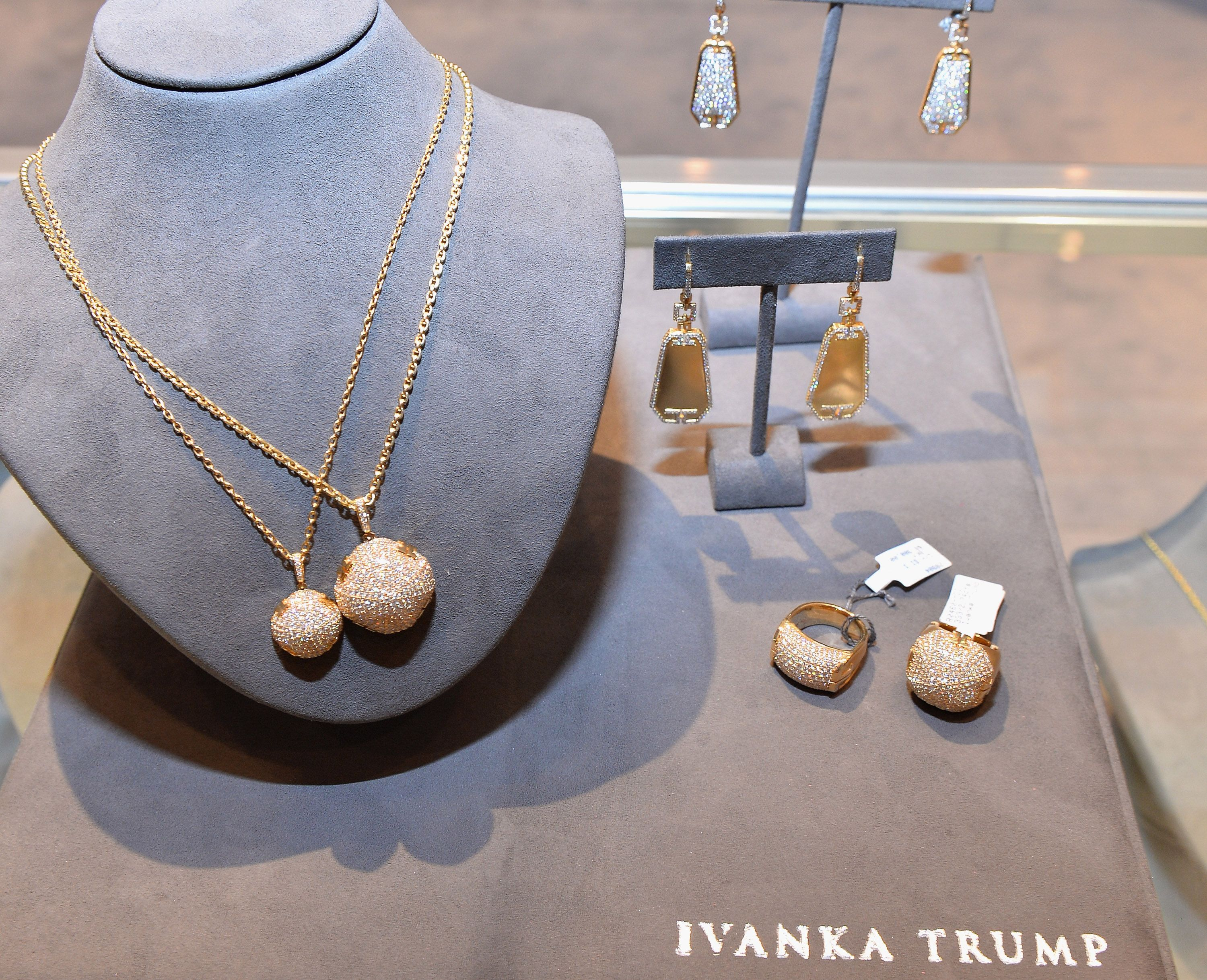Ivanka Trump Jewelry Showroom At The Couture Jewelry Show