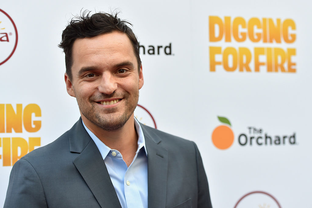 Jake Johnson at a premier