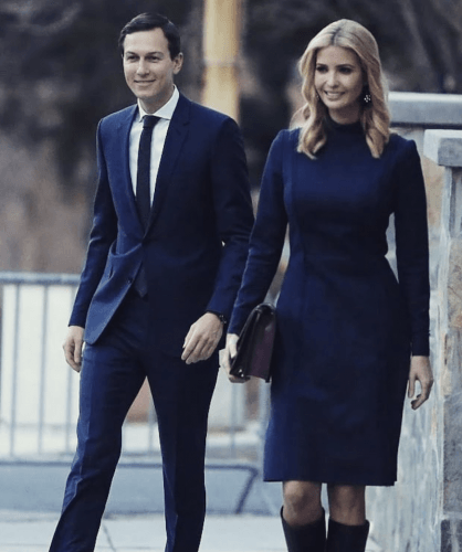 These Photos Of Jared Kushner And Ivanka Trump Show How