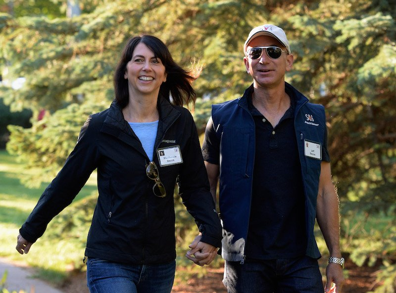 The Scandalous Office Love Affair That Brought Jeff Bezos