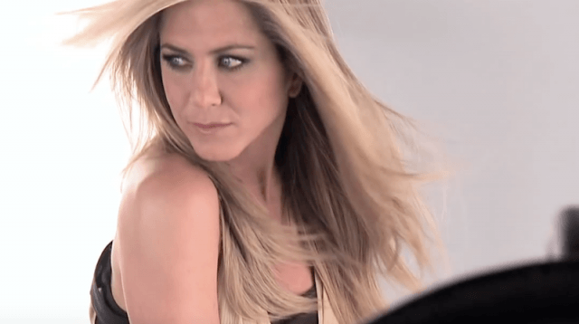 Jennifer Aniston during her Allure photoshoot.
