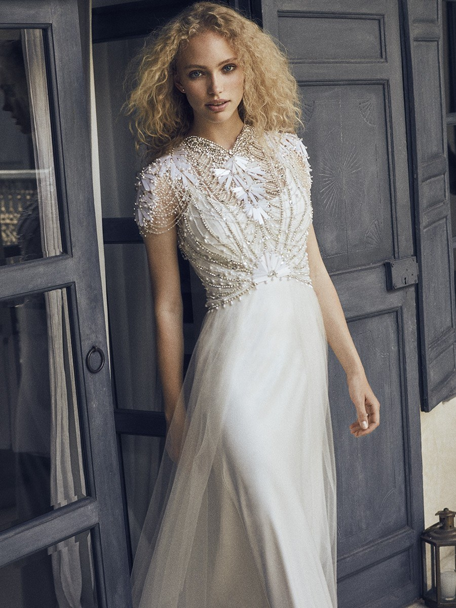 Meghan markle may have just revealed her wedding dress designer jenny packham bridal junglespirit Choice Image