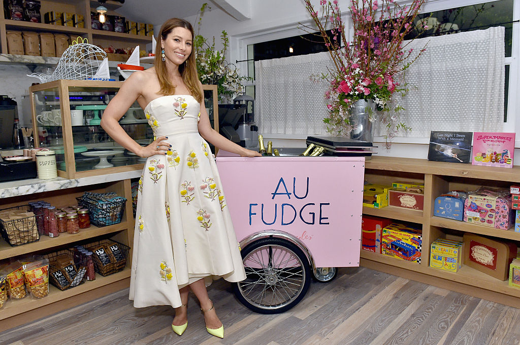 Jessica Biel at the Grand Opening Of Au Fudge, Presented By Amazon Family
