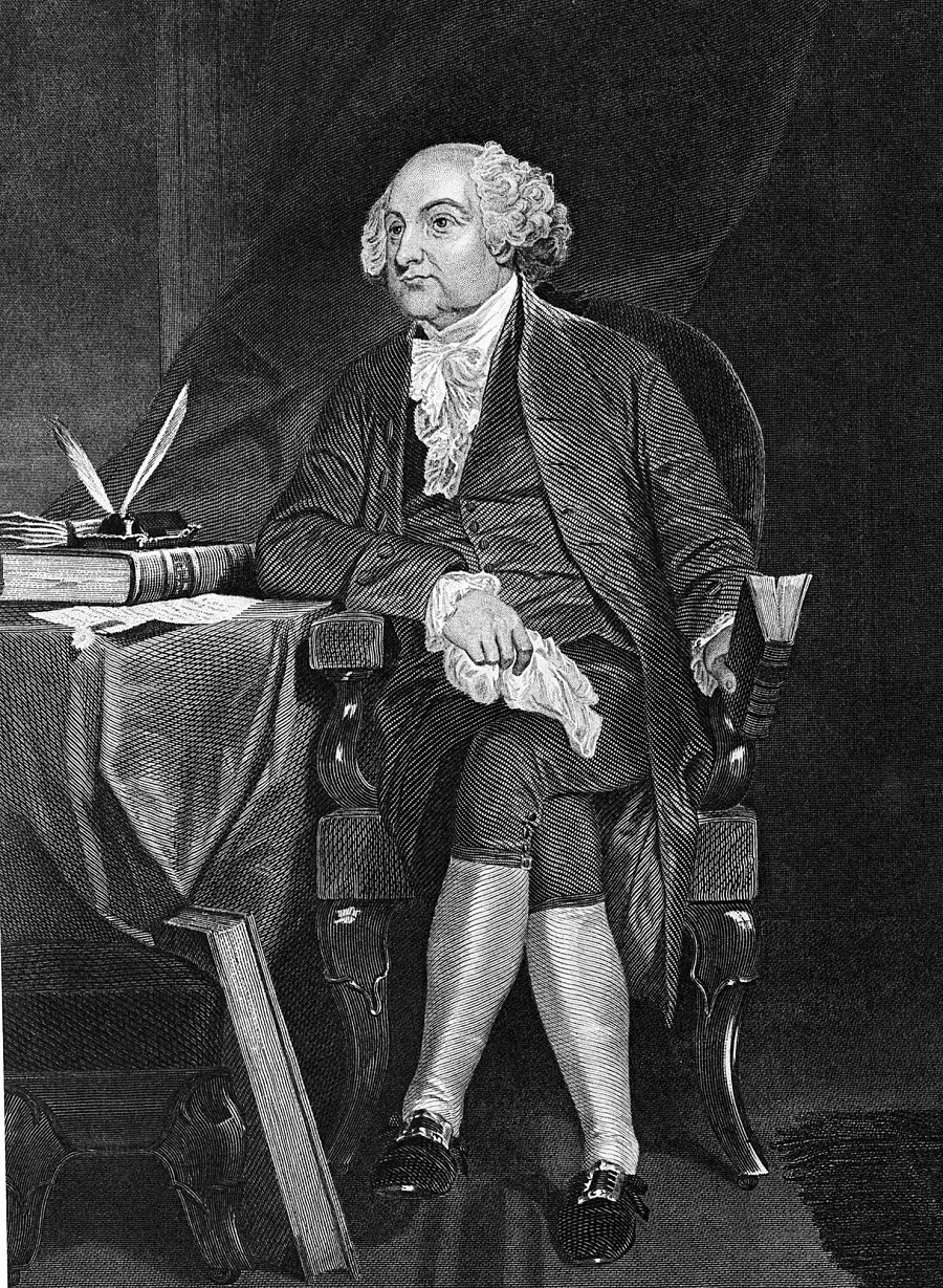 portrait, John Adams
