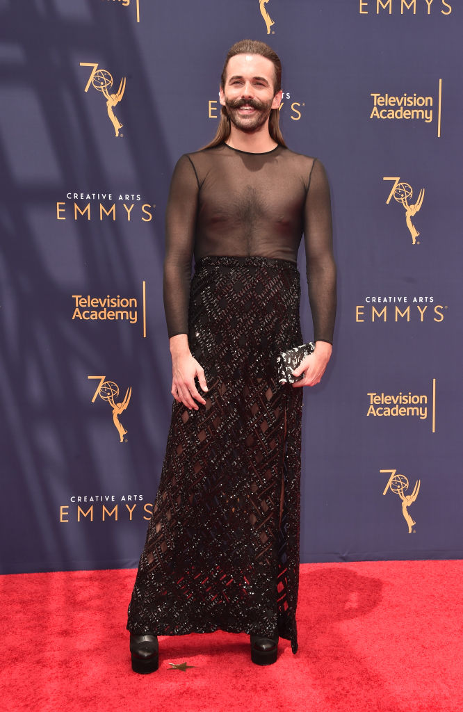 TV star Jonathan Van Ness attends the 2018 Creative Arts Emmys Day 2 at Microsoft Theater on September 9, 2018 in Los Angeles, California.