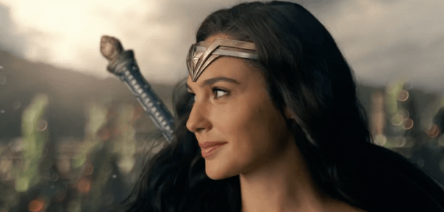 Gal Gadot in 'Justice League'.