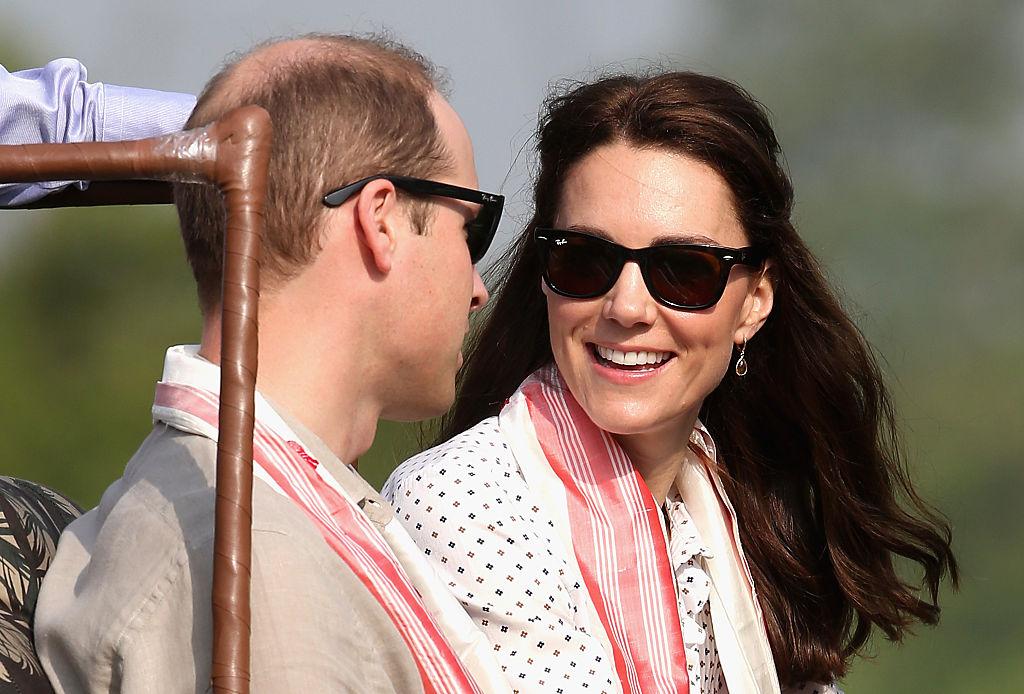 Kate Middleton and Prince William on safari