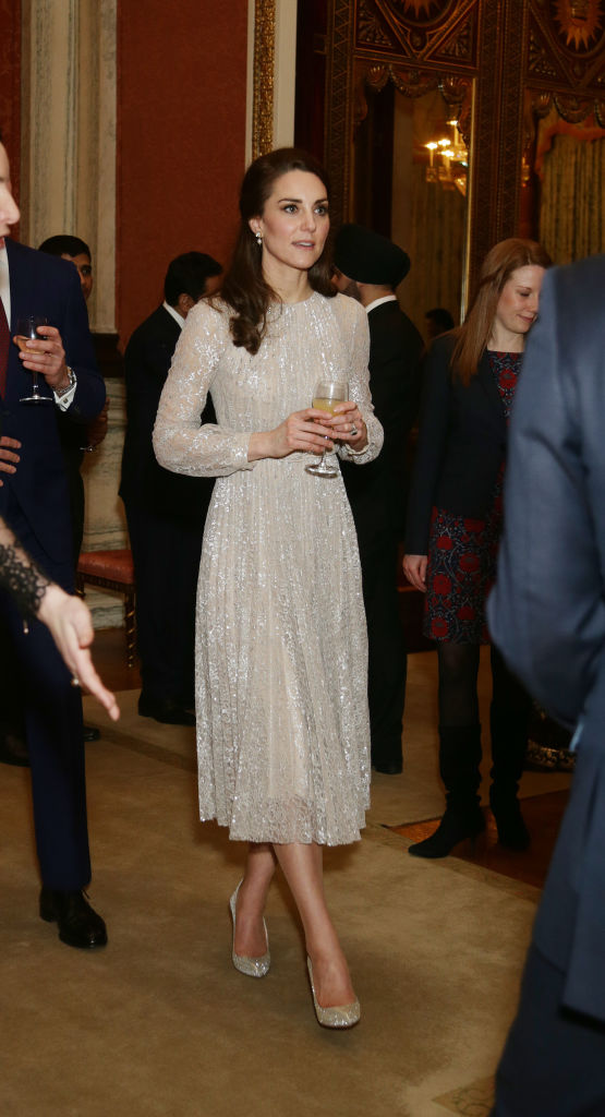Kate Middleton in Erdem India Year Of Culture