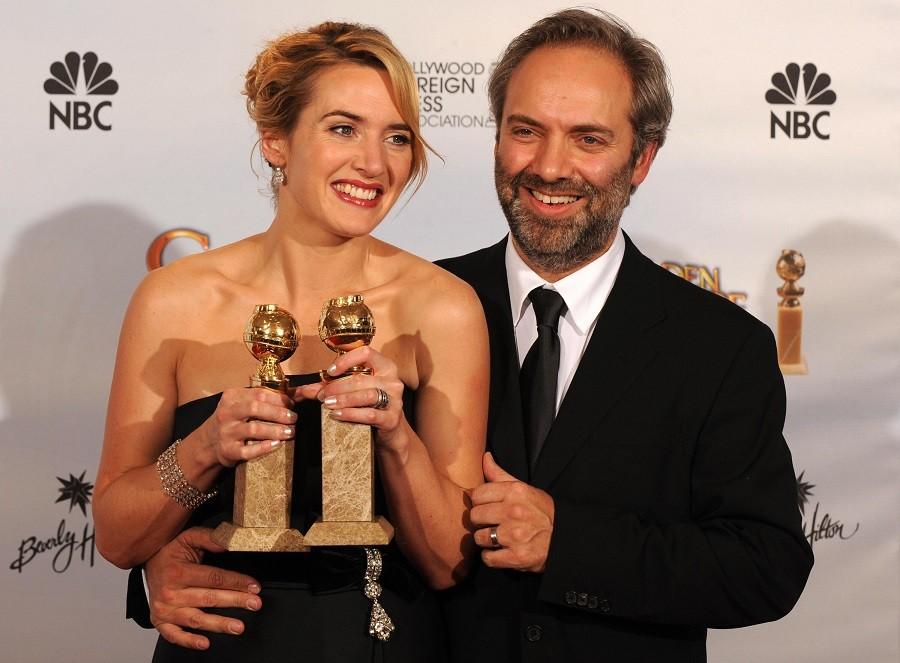 Kate Winslet and Sam Mendes