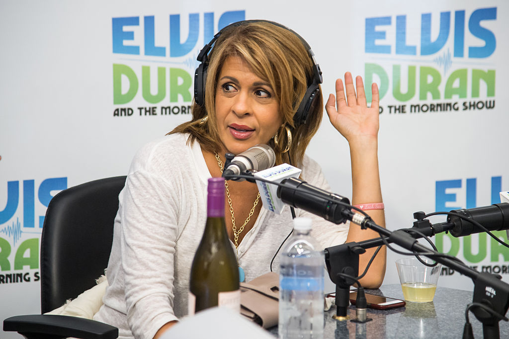 Television Personality Hoda Kotb visits 'The Elvis Duran Z100 Morning Show' at Z100 Studio
