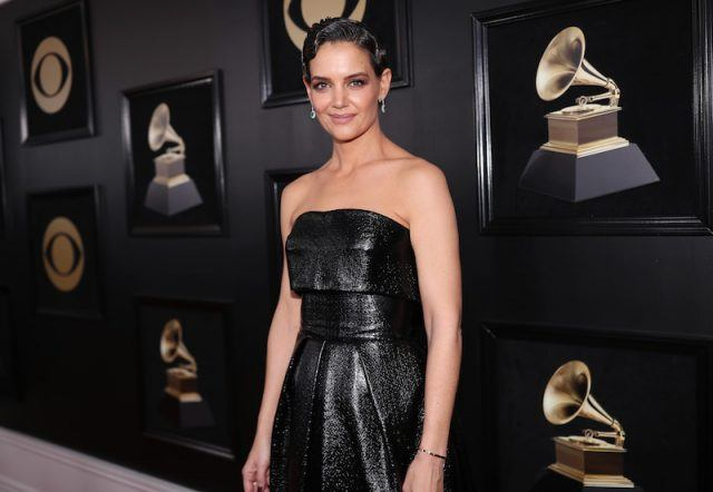 Katie Holmes at the Grammy's award.