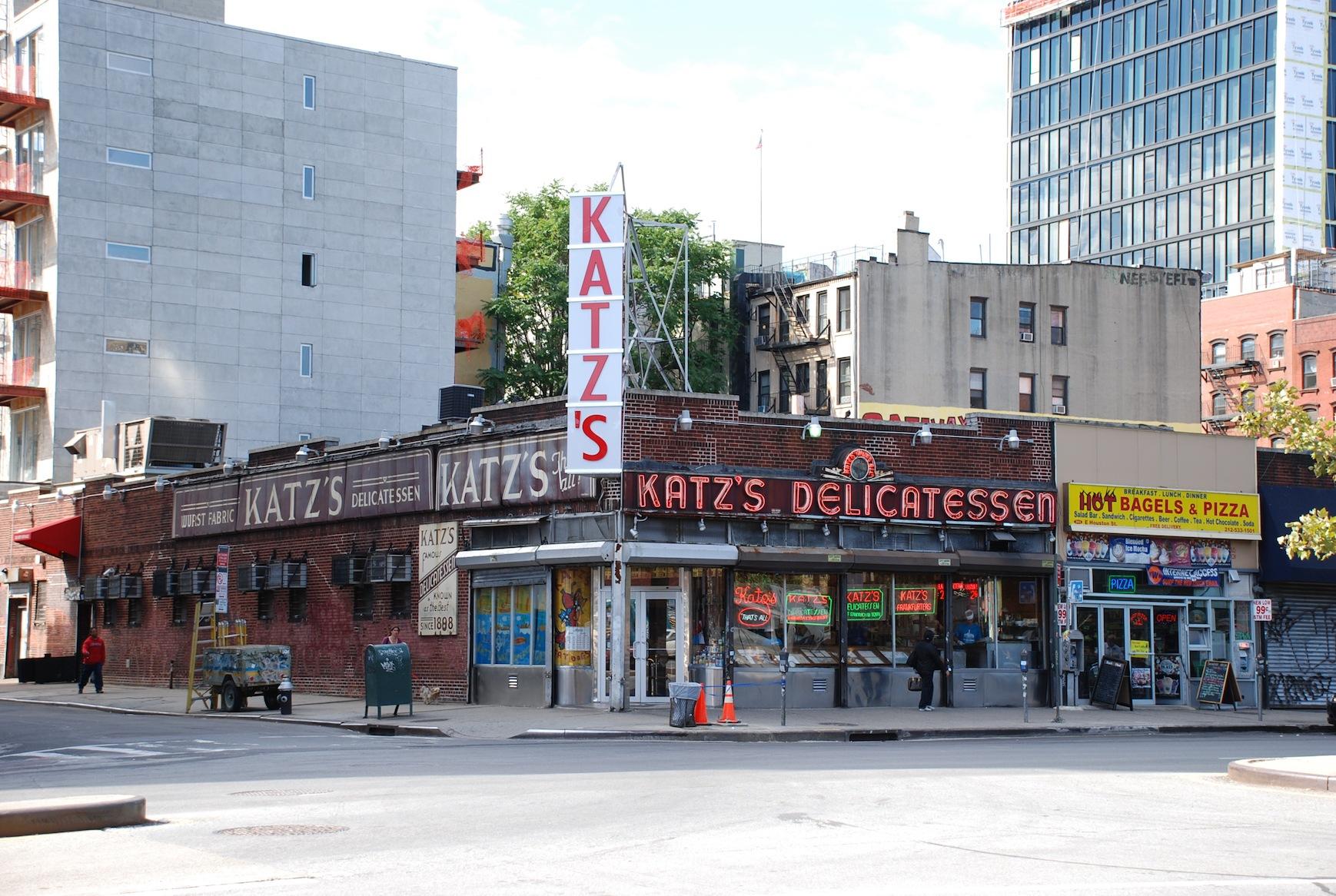 Famous Katz's Delicatessen