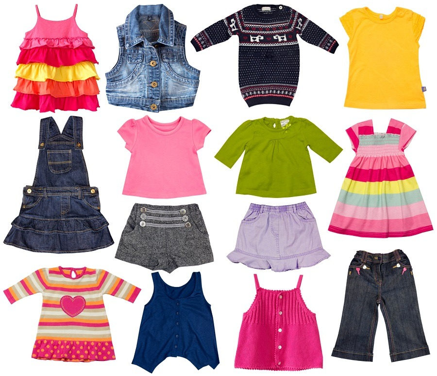 Range of Children Clothes