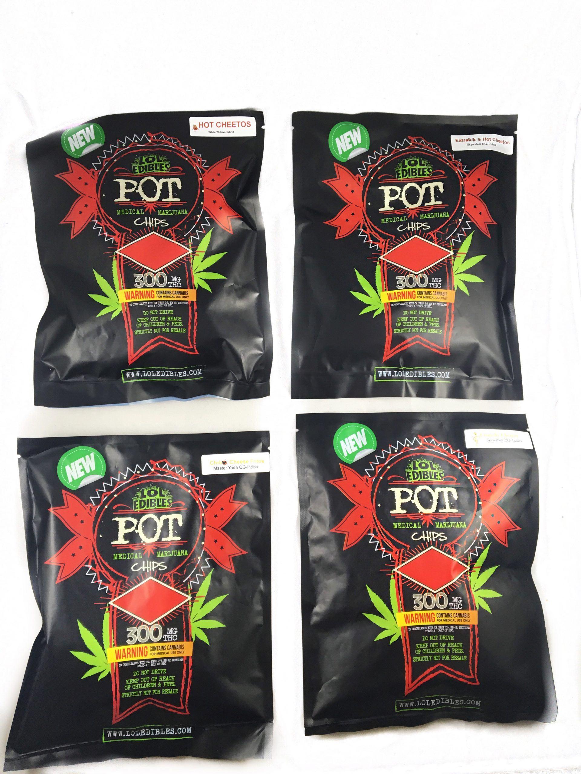 LOL edibles pot chips