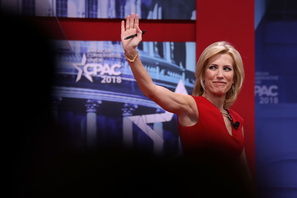 Fox News Channel host Laura Ingraham addresses the Conservative Political Action Conference