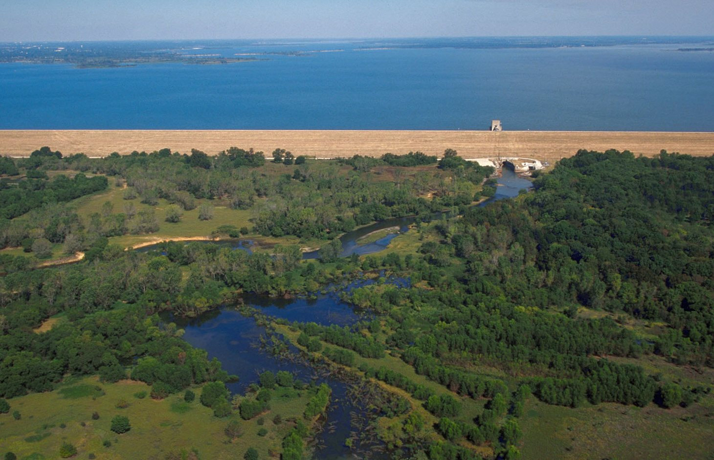 Lewisville Lake and Dam